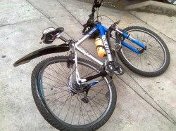 Bici atropellada