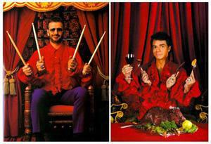 Ringo Starr y Eugenio Derbez